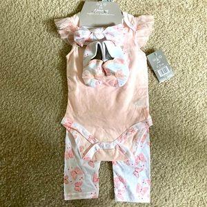 Baby Girl 4-Piece Set